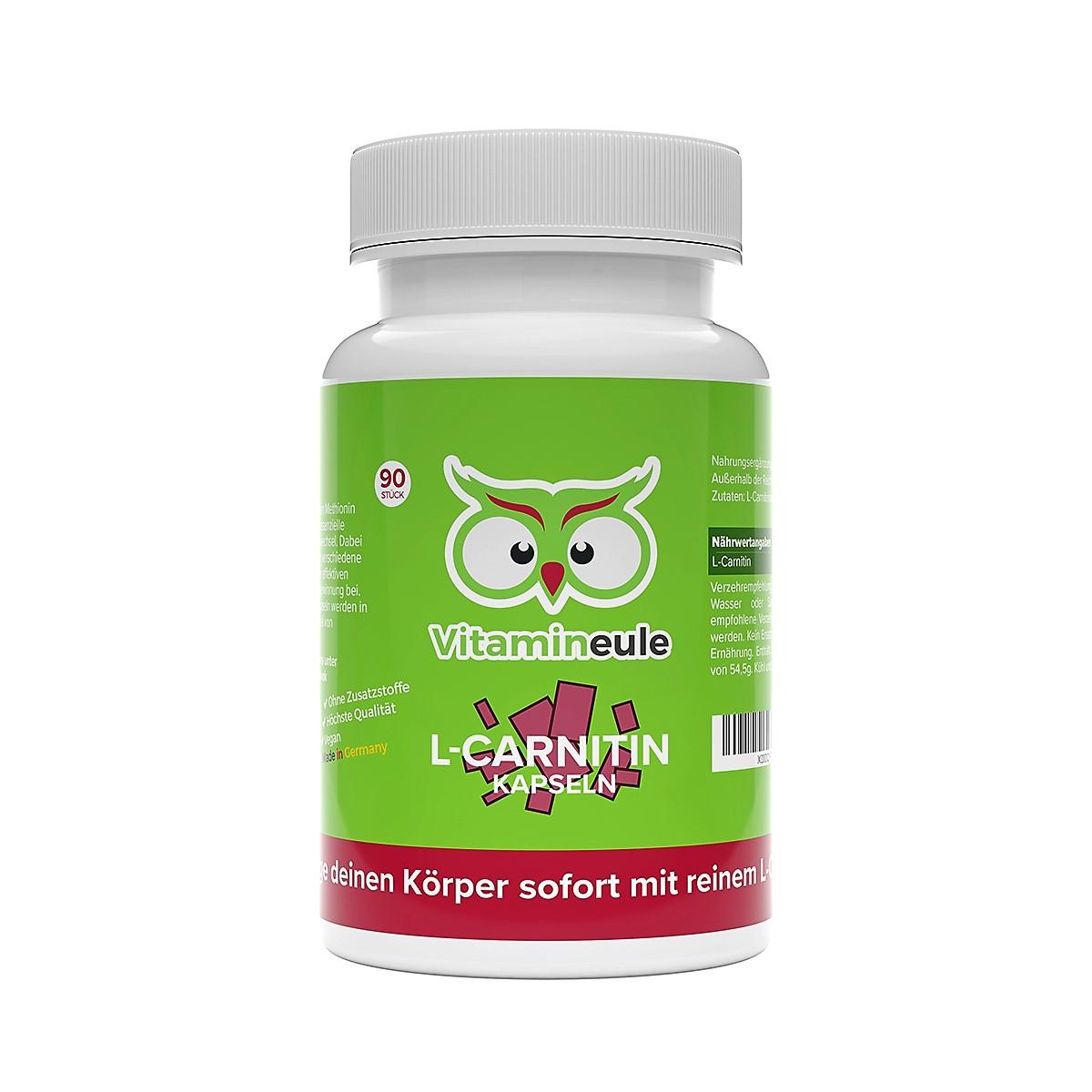 L-Carnitin Kapseln von Vitamineule