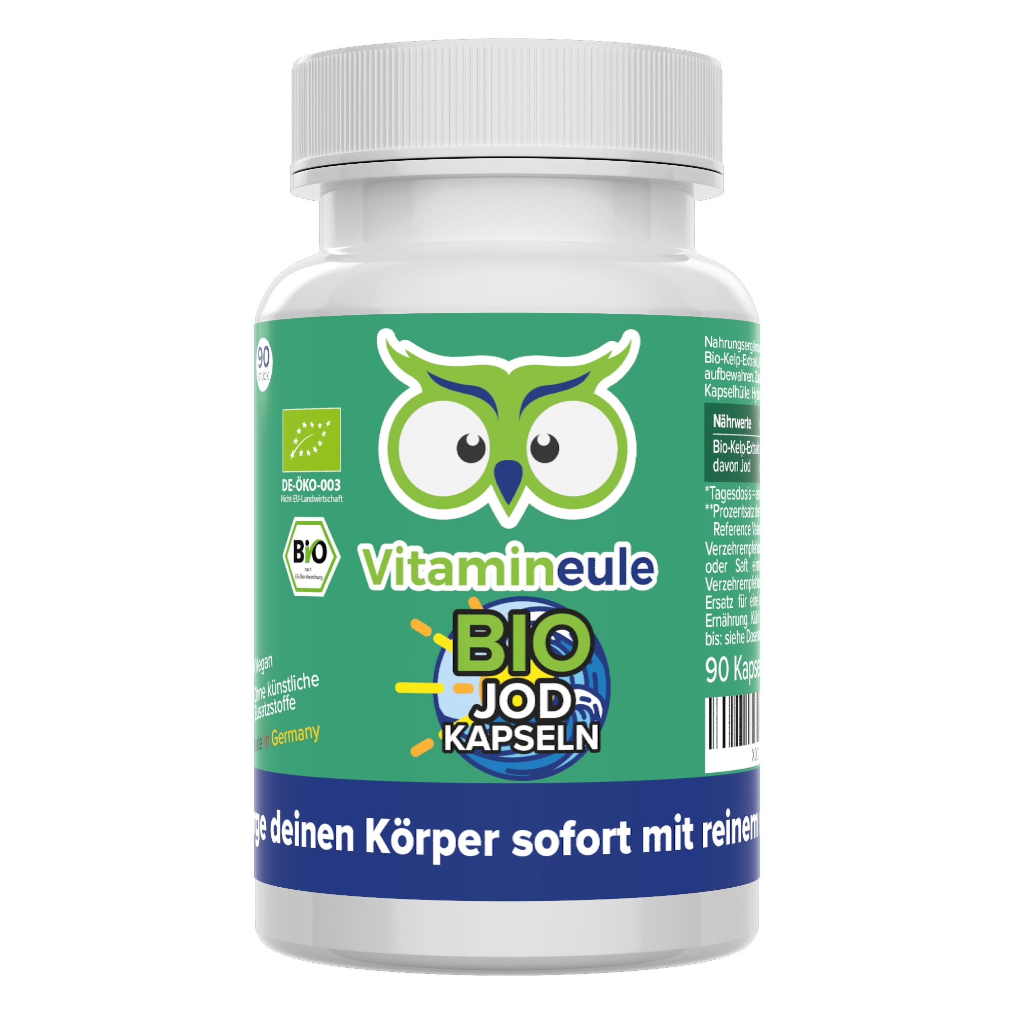 Bio Jod Kapseln von Vitamineule