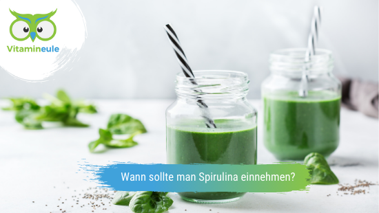 Wann sollte man Spirulina einnehmen?