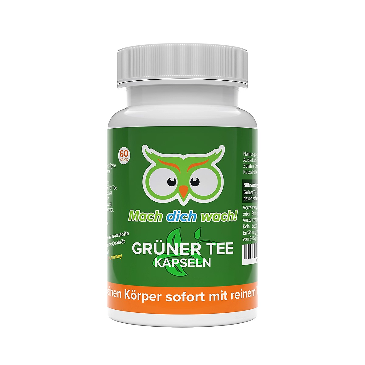 Grüne Tee Kapseln von Vitamineule