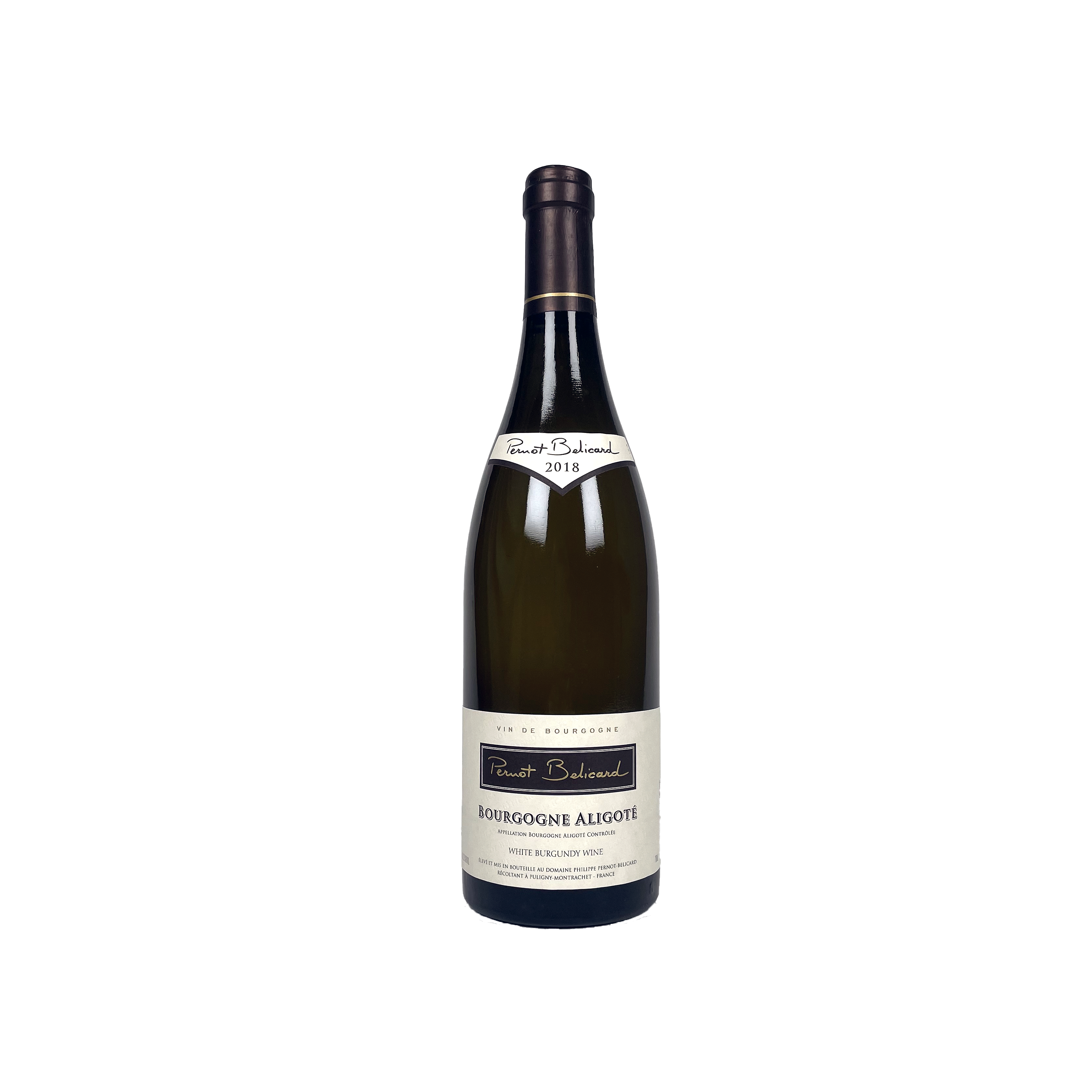 Pernot Belicard Bourgogne Aligote, 2018, 75CL
