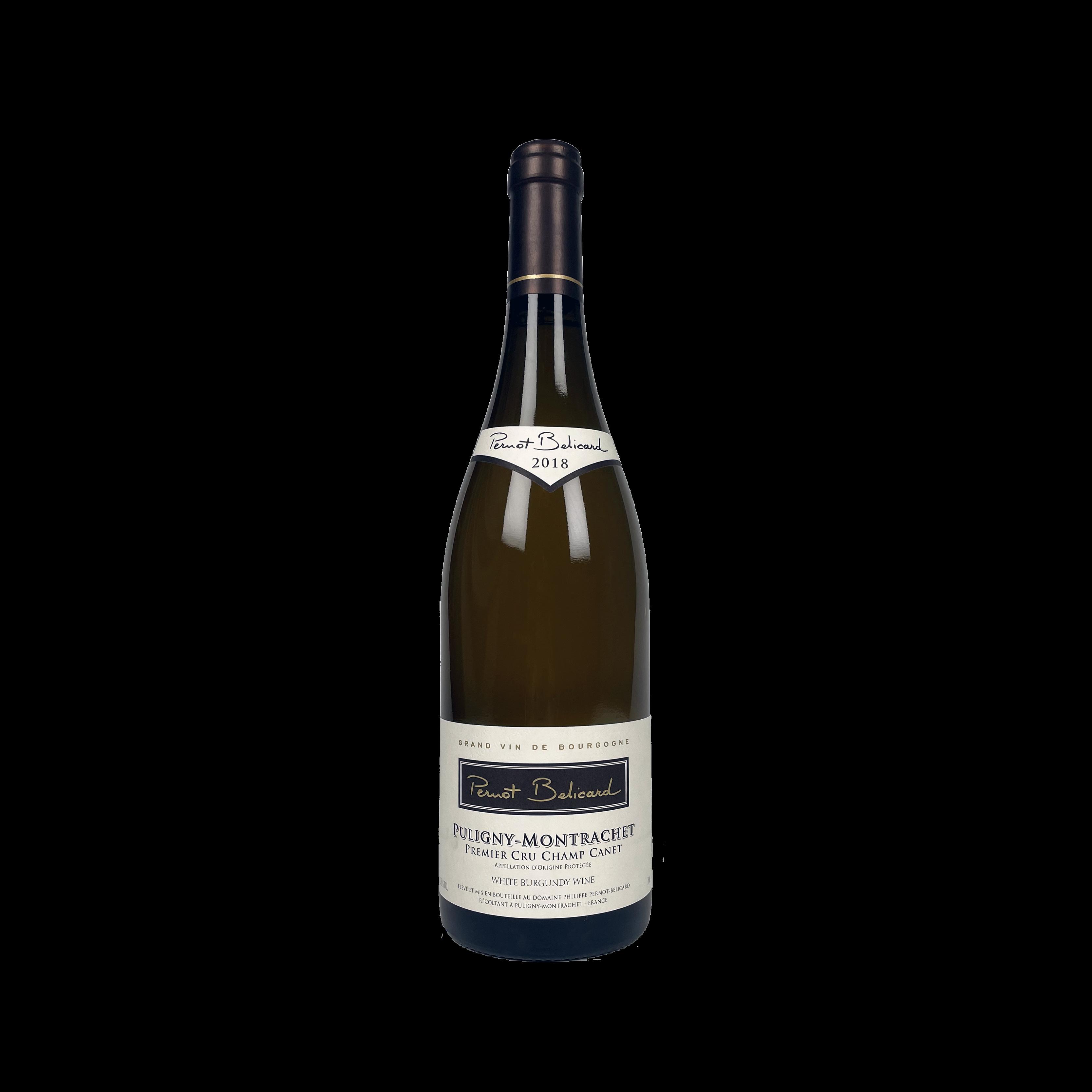 Pernot Belicard Puligny Montrachet 1er Cru Champs Canet, 2018, 75CL