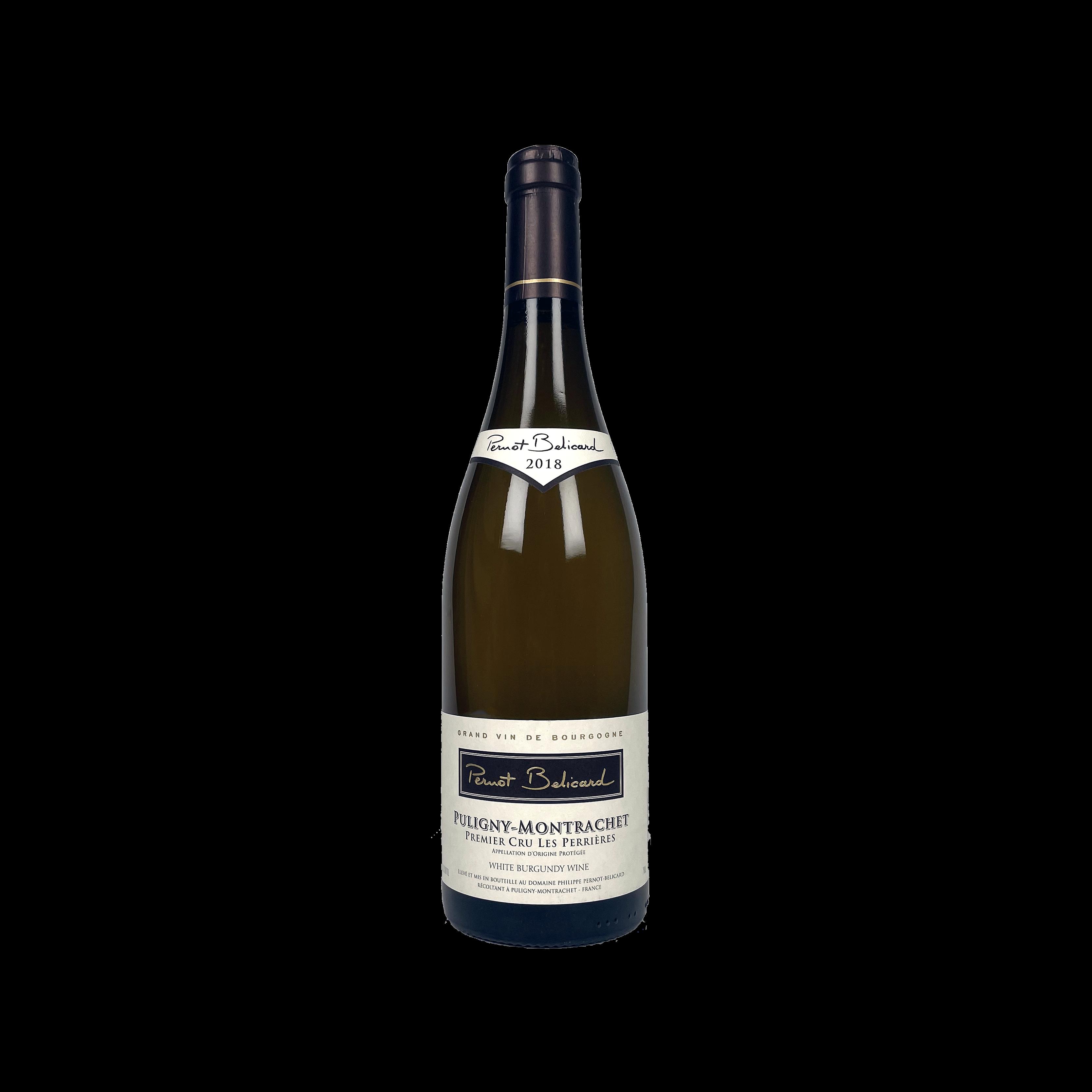 Pernot Belicard Puligny Montrachet 1er Cru Les Perrieres, 2018, 75CL