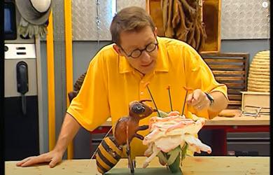 Comment l'abeille butine-t-elle?