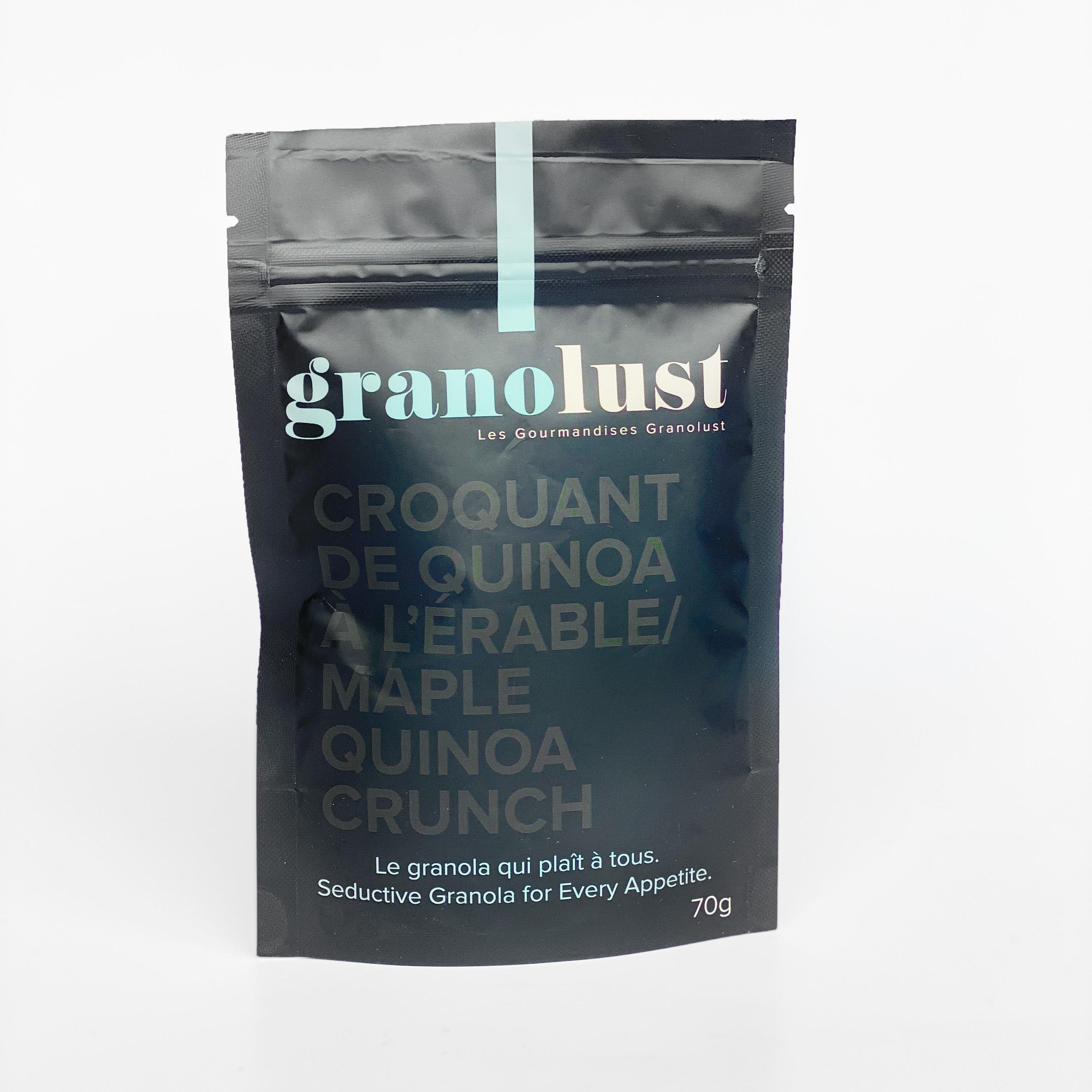 Granola à l'érable - Granolust