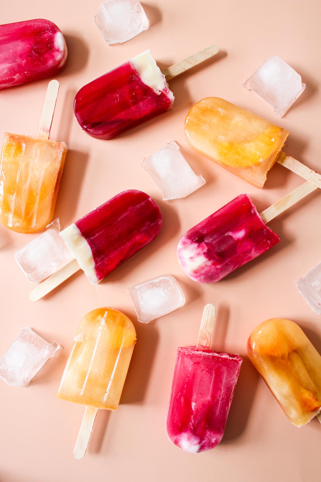 Popsicles aux thés glacés