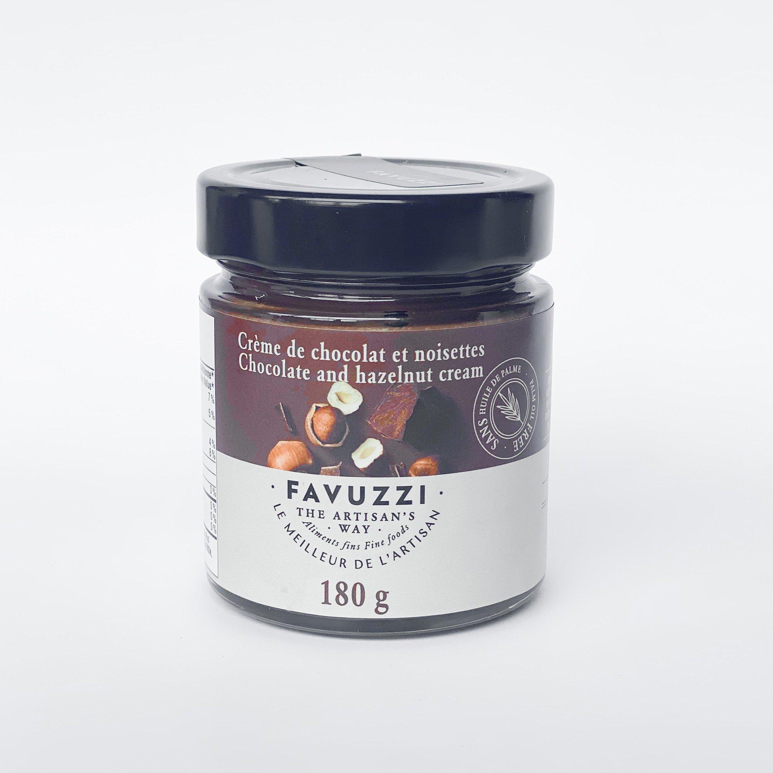 crème chocolat-noisettes - Favuzzi