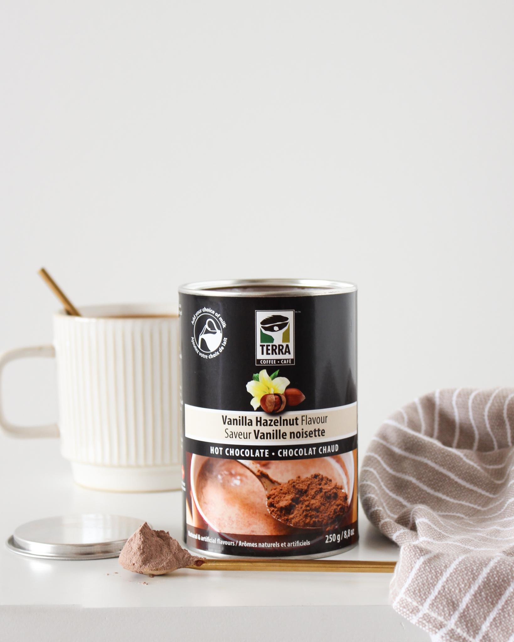 Chocolat chaud vanille noisette - Terra