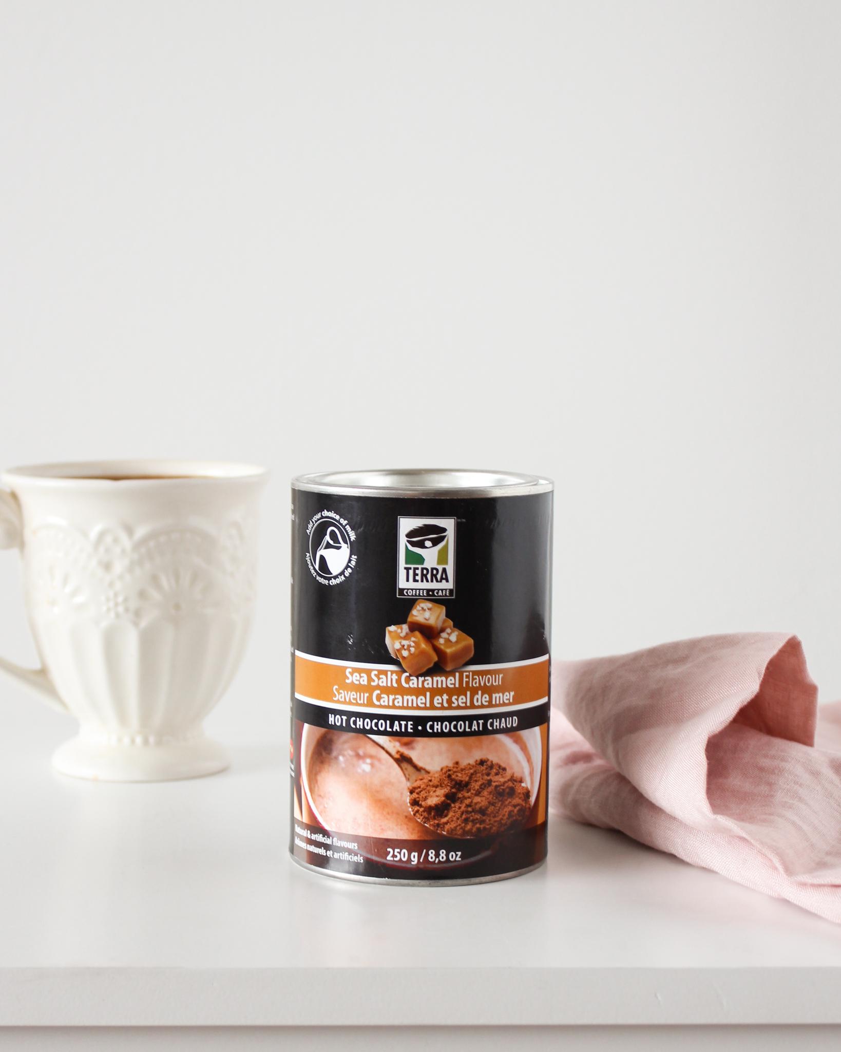 Chocolat chaud Caramel & sel de mer - Terra