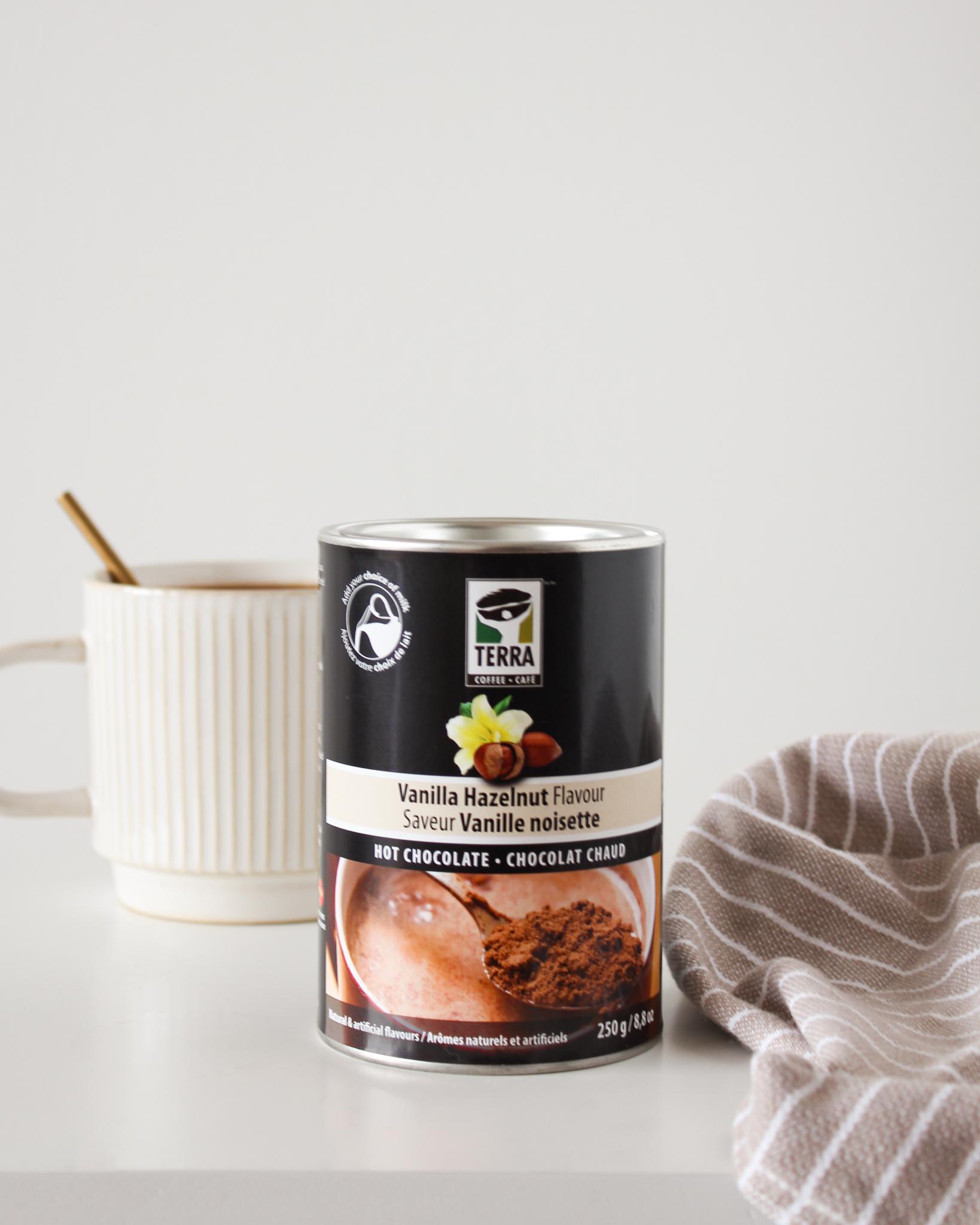 Chocolat chaud Vanille noisette-Terra