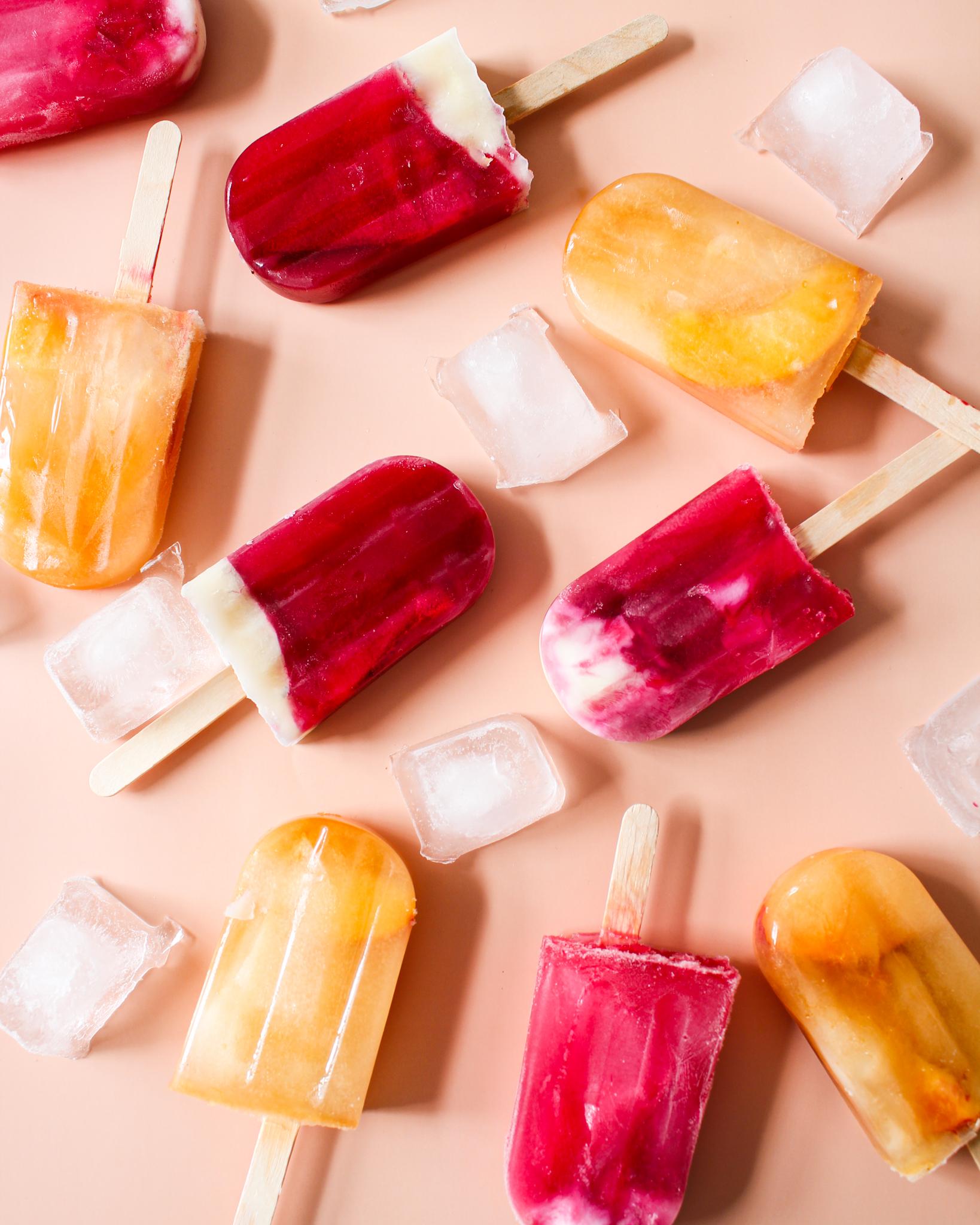 Popsicles santé au thé glacé