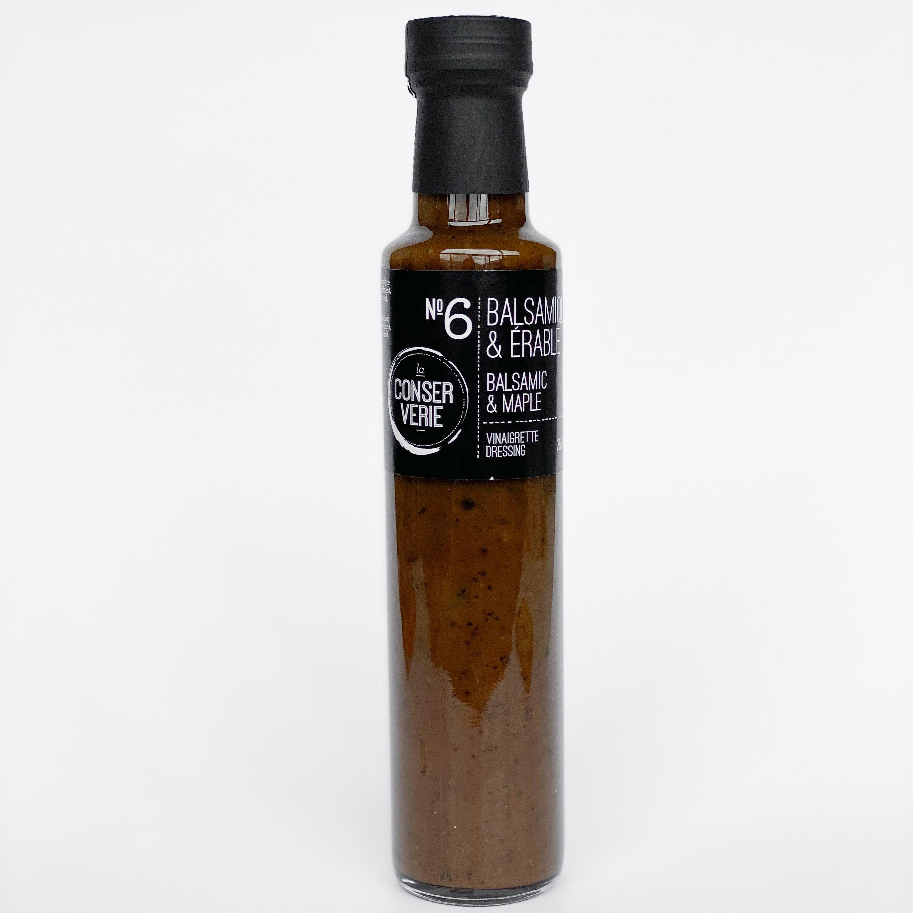 Vinaigrette balsamique & érable - La conserverie