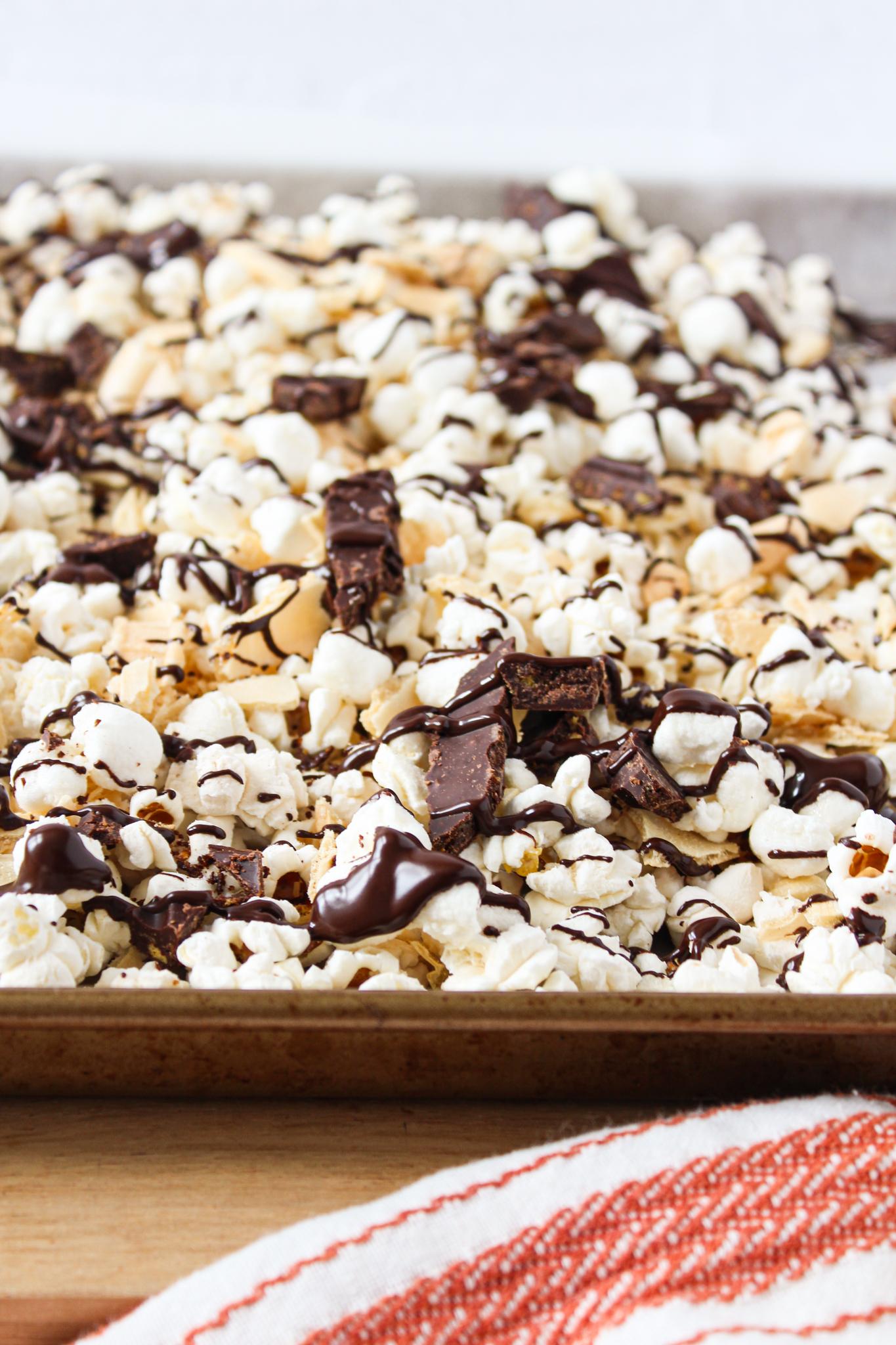 Popcorn s'mores choco-noisette