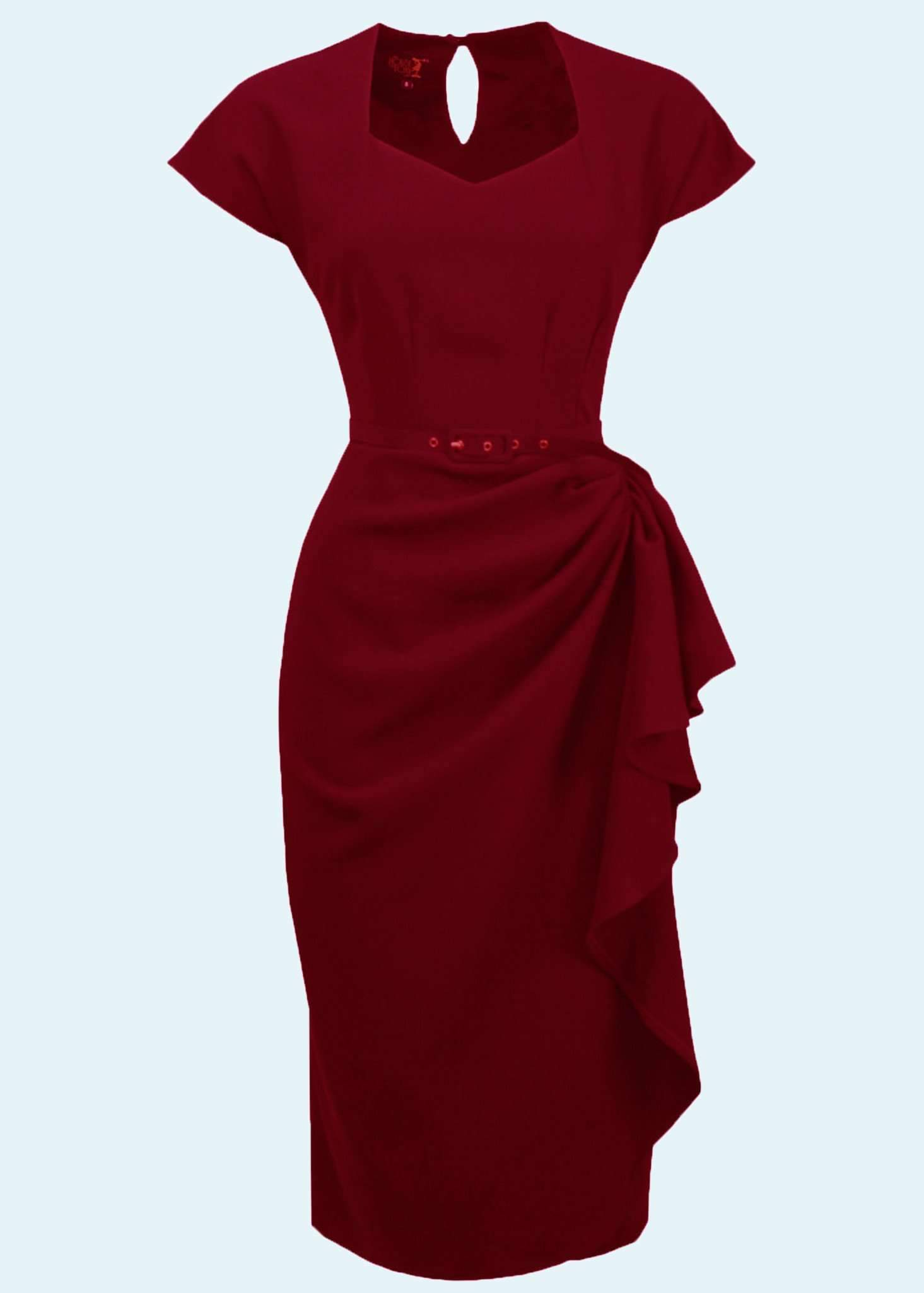 Hayworth pencil dress in vintage style