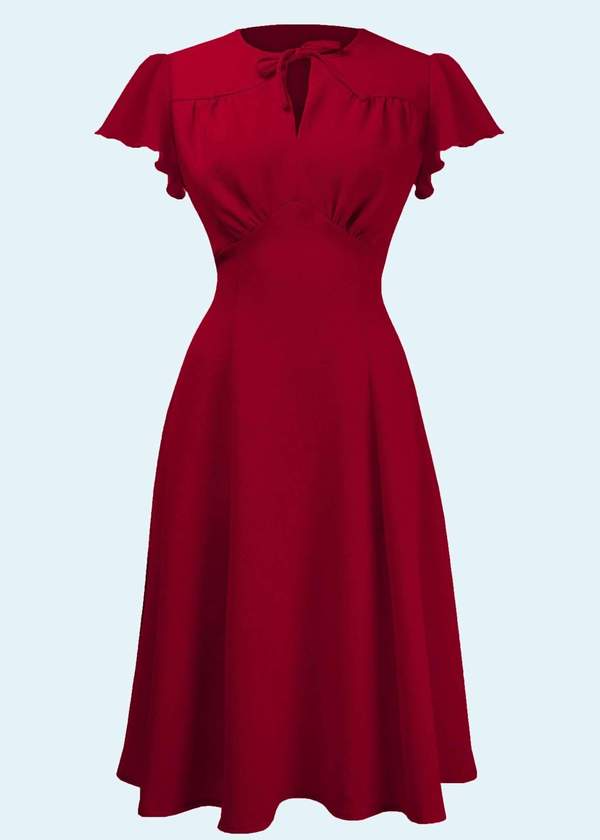 Beautiful vintage style dress for Valentines