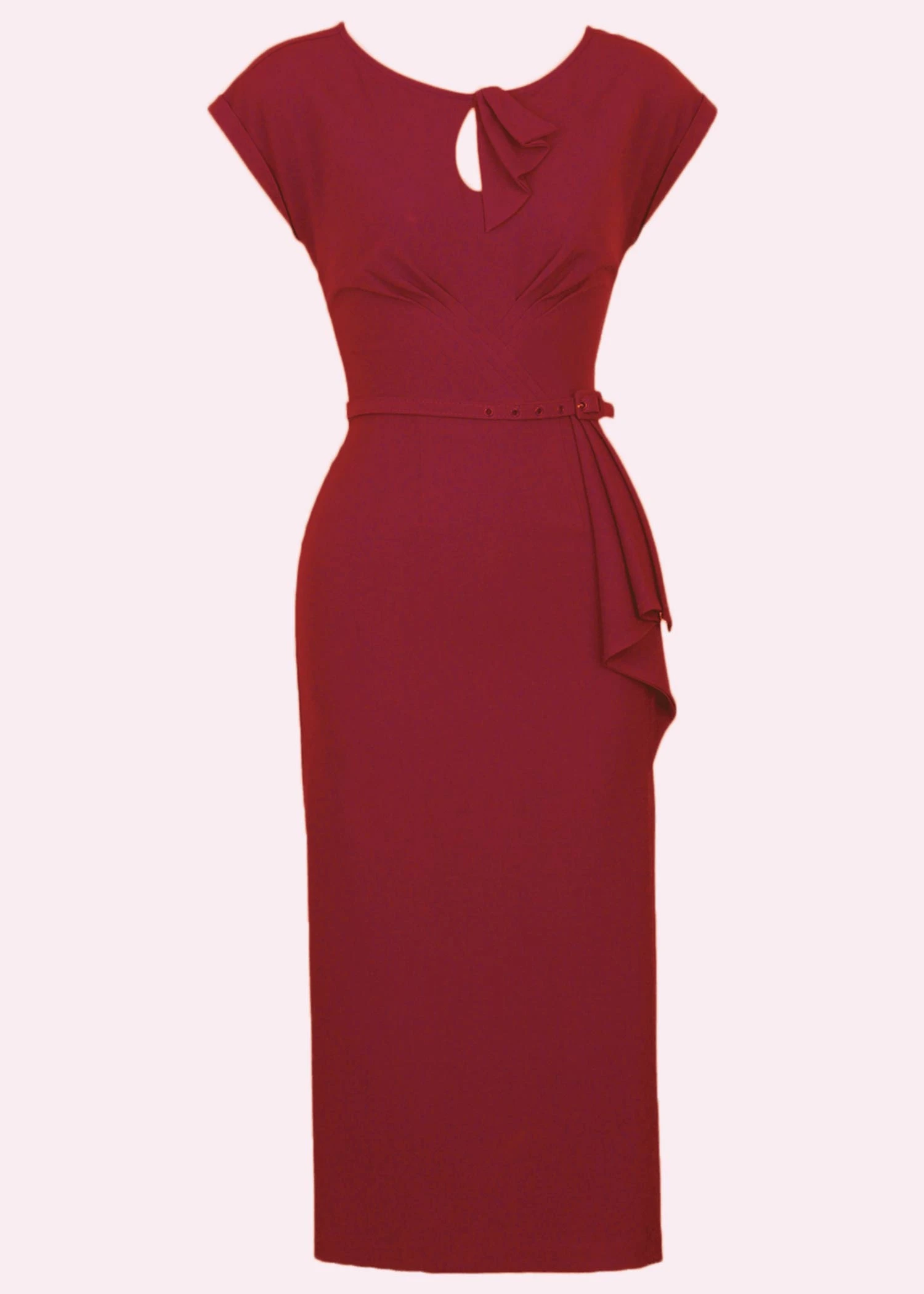 Beautiful art deco inspired cocktail dress from Stop Staring in red