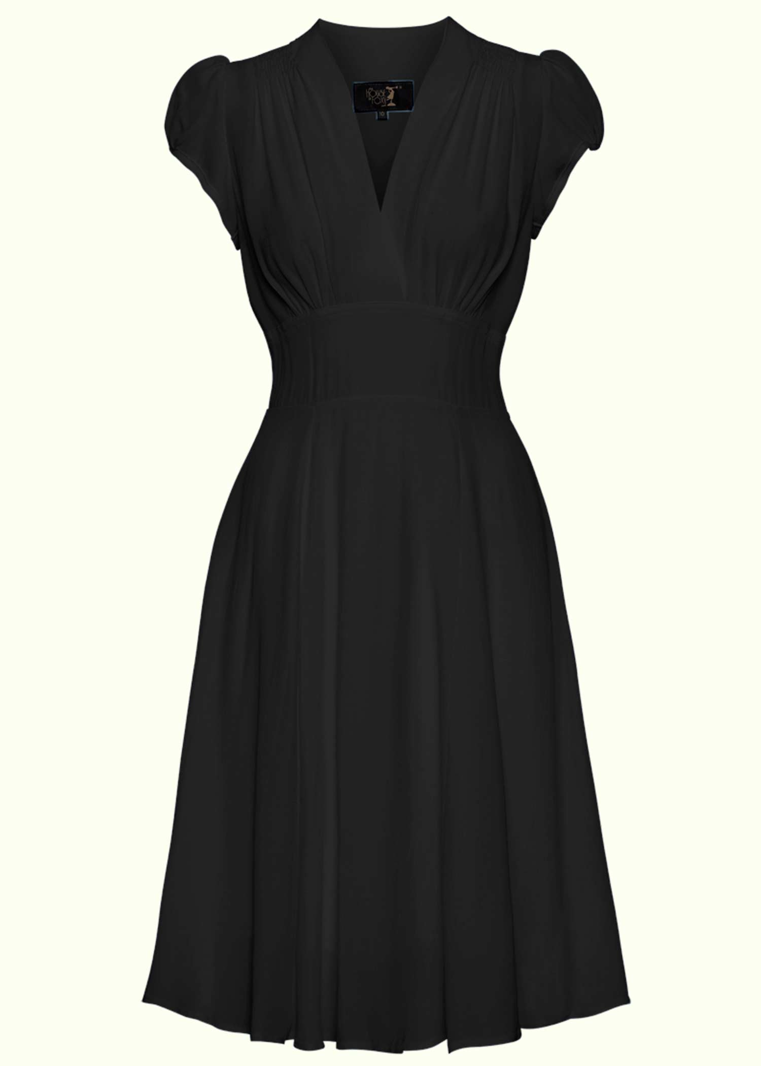 Vintage style alone dress in black from The House Of Foxy