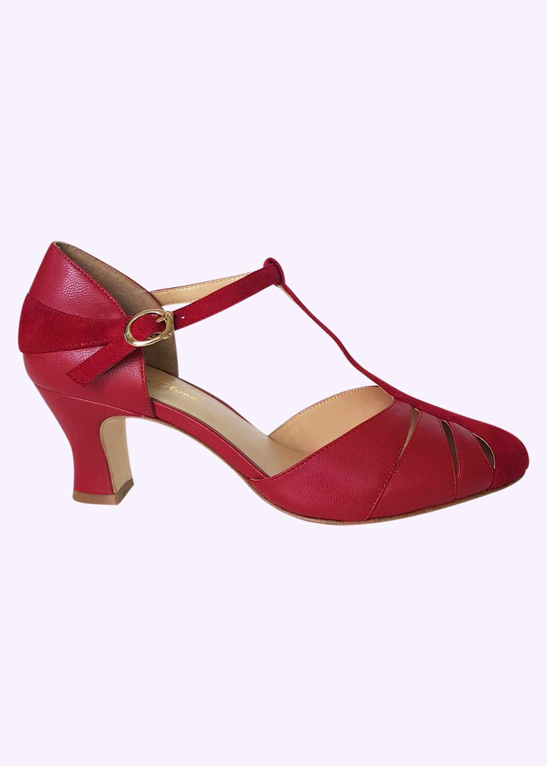 Charlie Stone shoes in red for Valentines