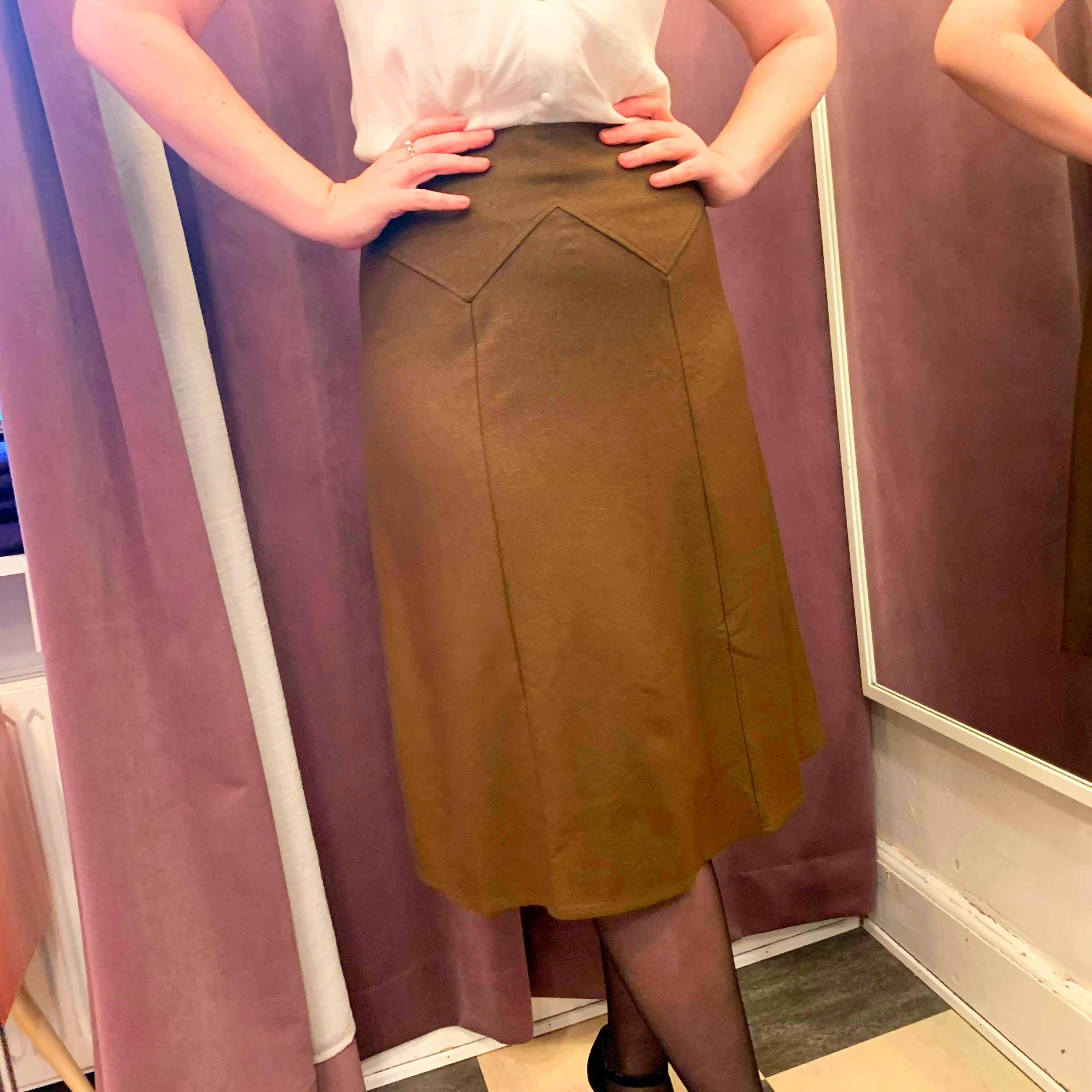 flora retro aline skirt from Daisy Dapper