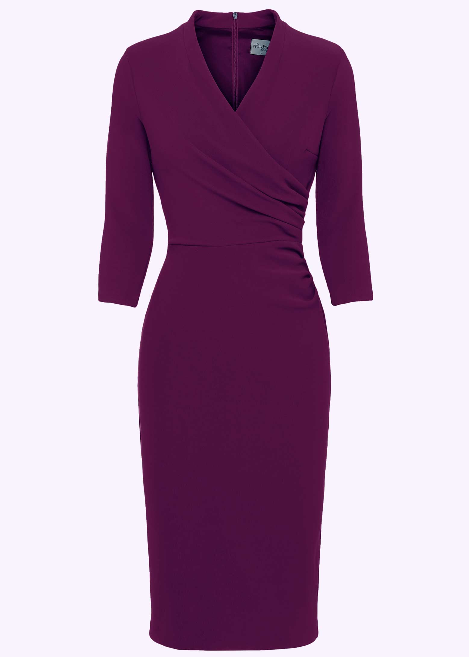 The flattering pencil dress in vintage style
