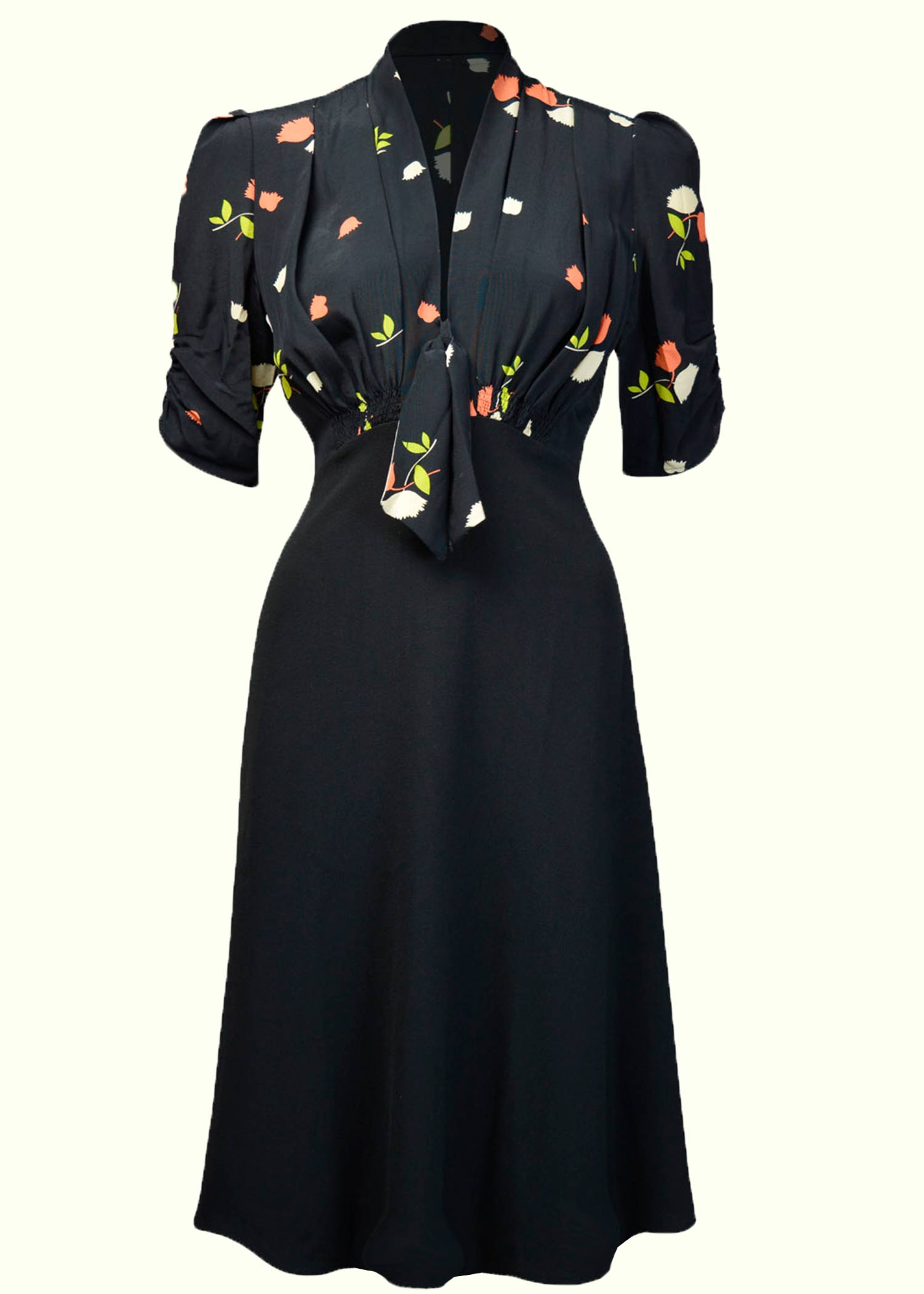 Jitterbug vintage style dress in 1930s style