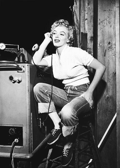 Marilyn MOnroe vintage jeans