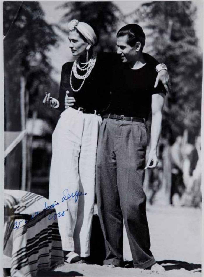 Coco Chanel Serge Lifar