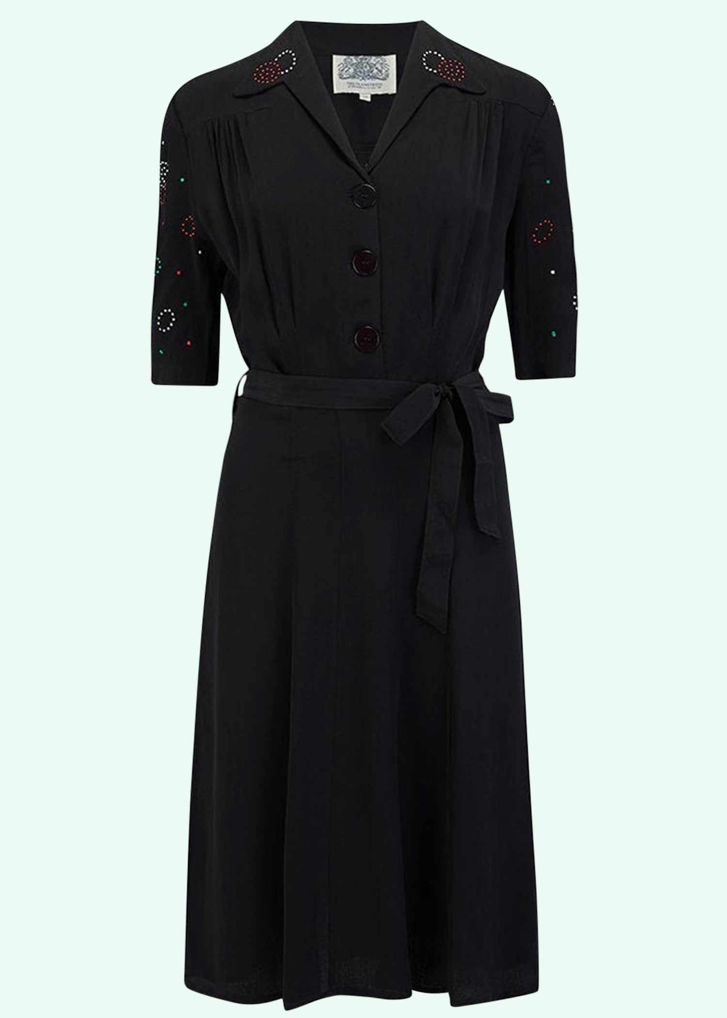 Black dress from seamstress of bloomsbury