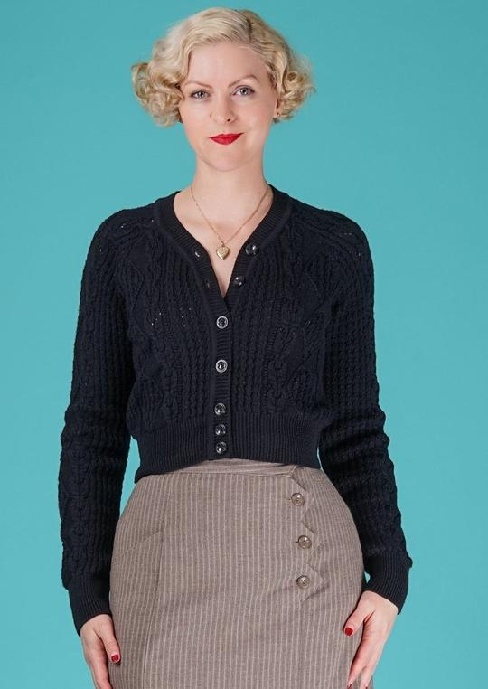 Adorable aran emmy cardigan