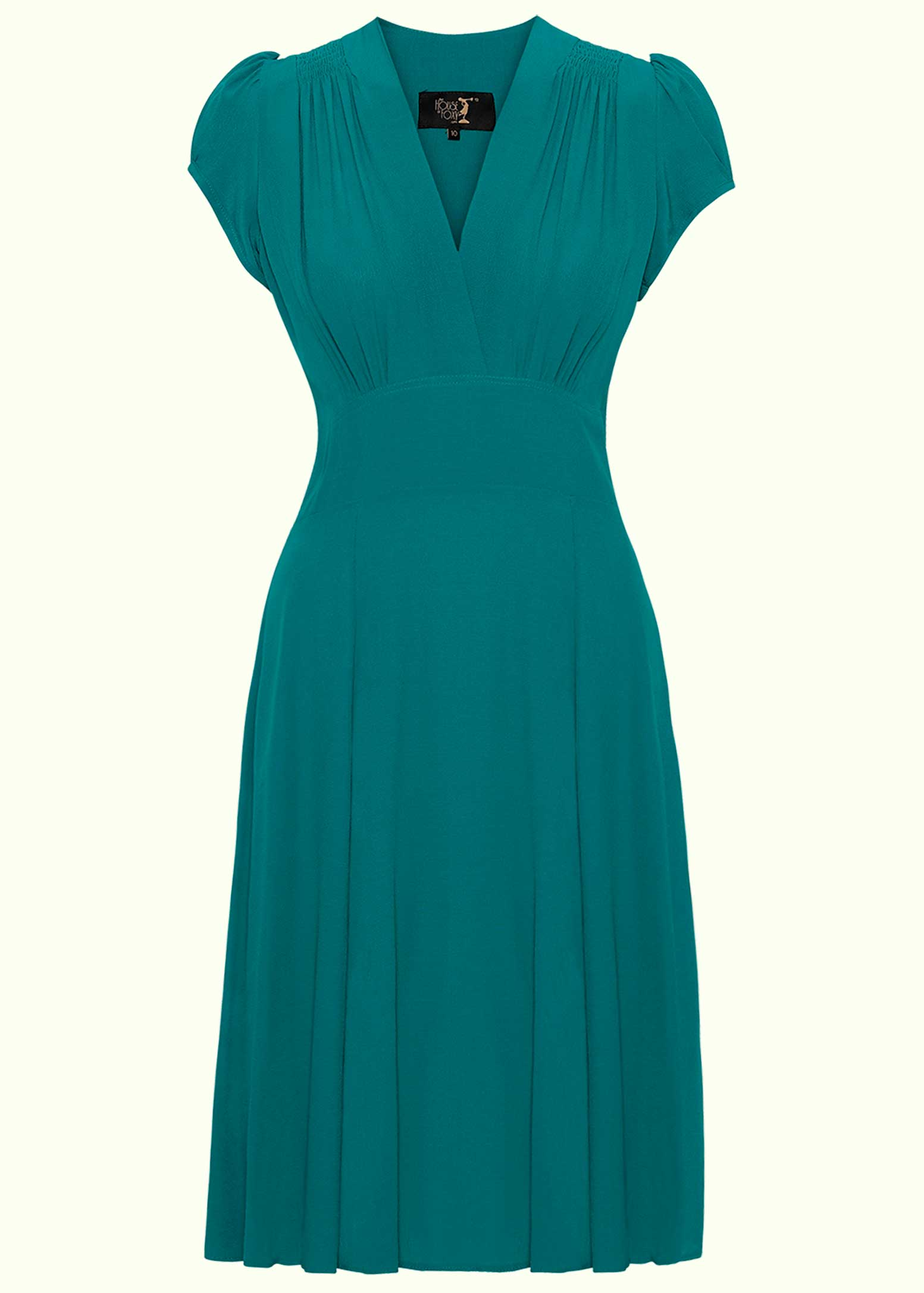 Ava dress in Teal