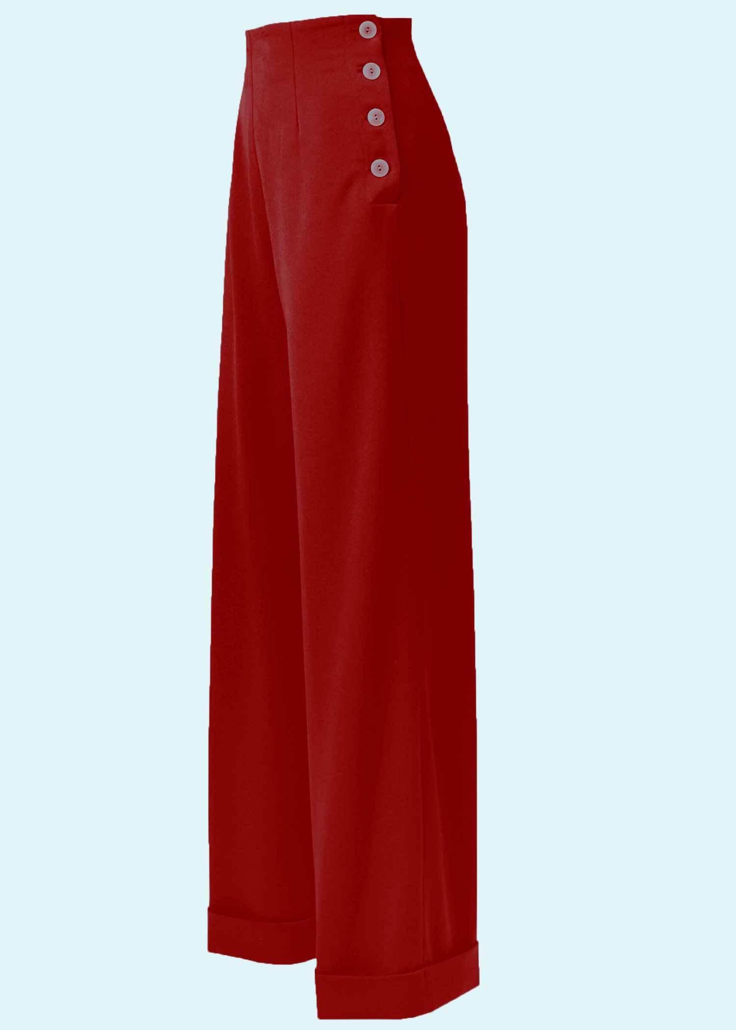 Klassiske vintage stils bukser