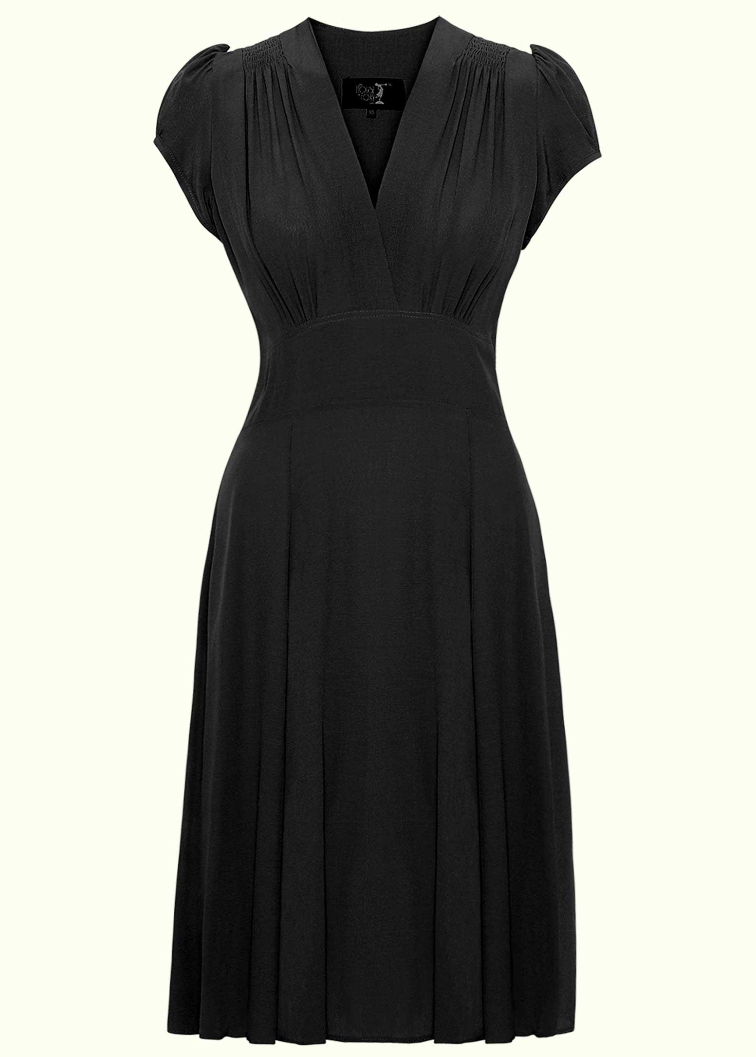 1930s style dress -the little black