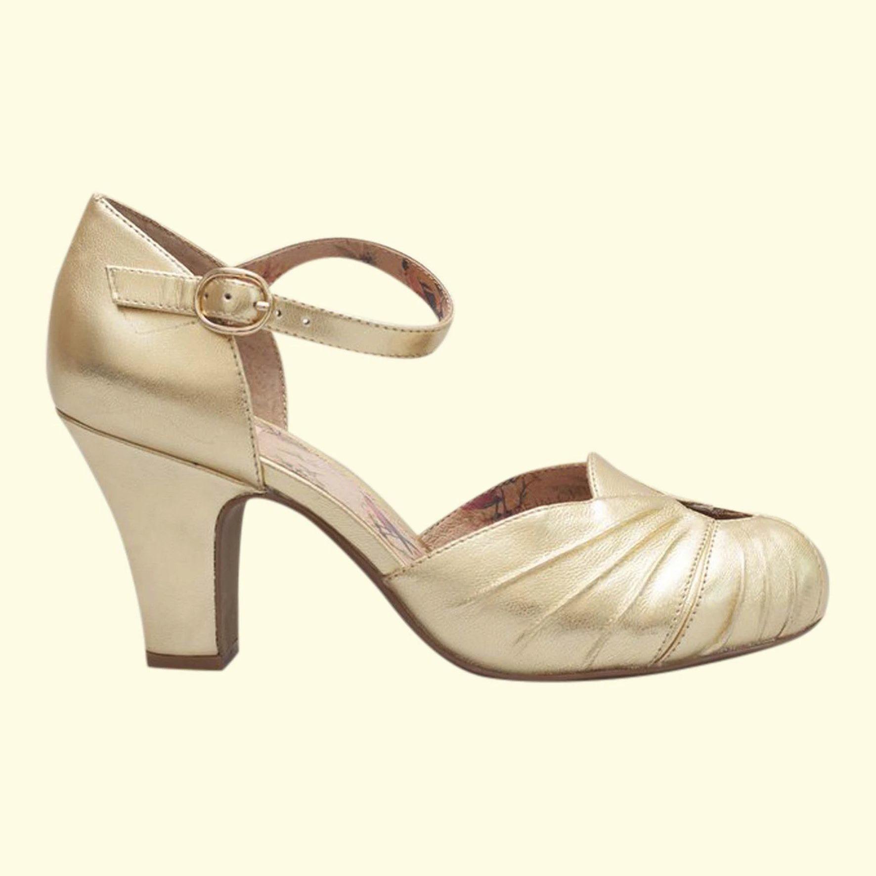 Guld sko fra Miss L fire