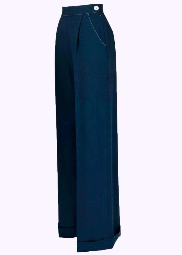 Wide vintage style pants