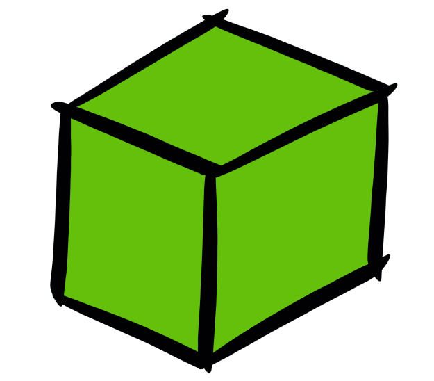 illustrated cube