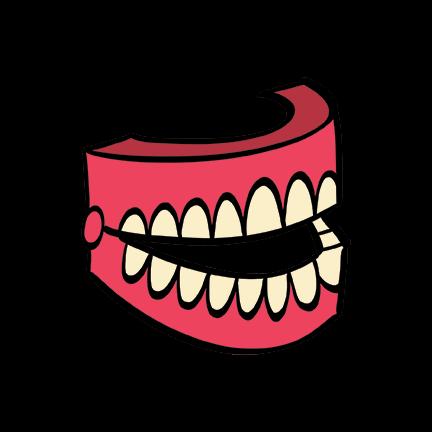 illustrated teeth