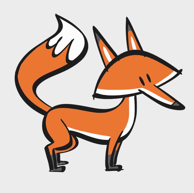 illustrated fox