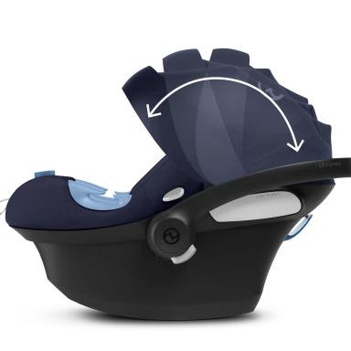 cybex aton m comfort features
