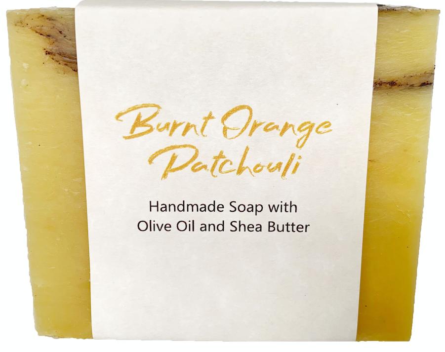 Burnt Orange Patchouli Soap Bar