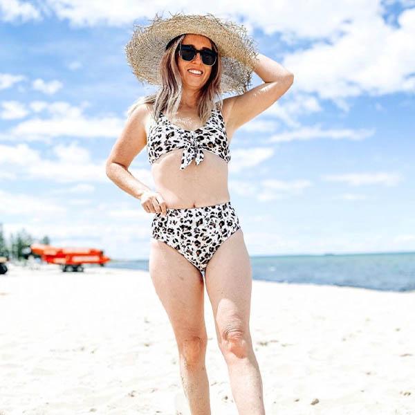 Nip Tuck Swim Australia Tummy Control Bikini Set Swimsuit