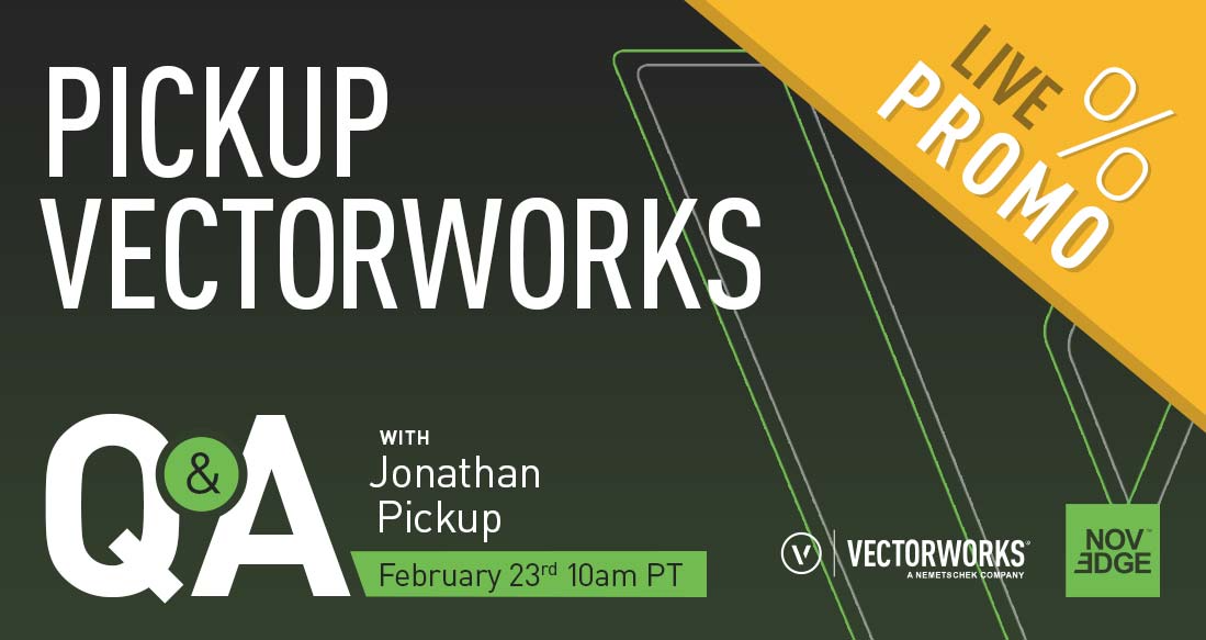 Pickup Vectorworks Q&A