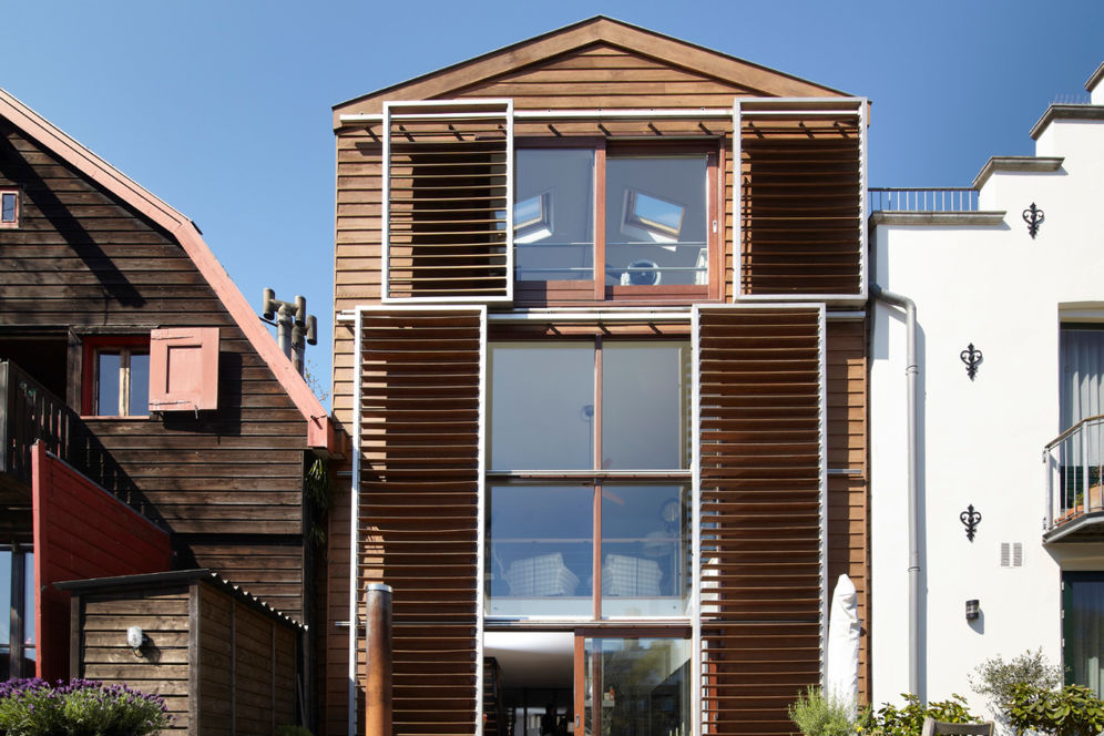 modern pakhuis Amsterdam