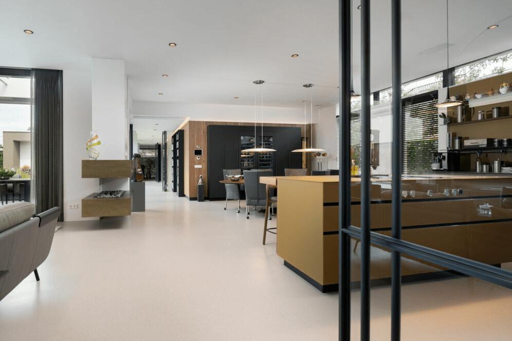 Interieur nieuwbouw villa