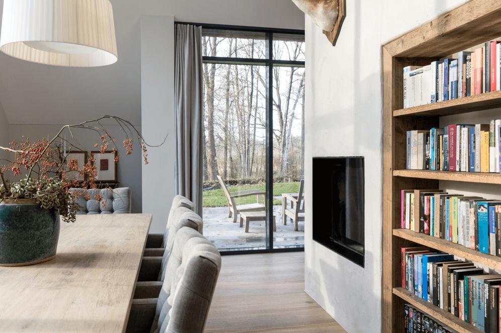 bosvilla Oisterwijk interieur