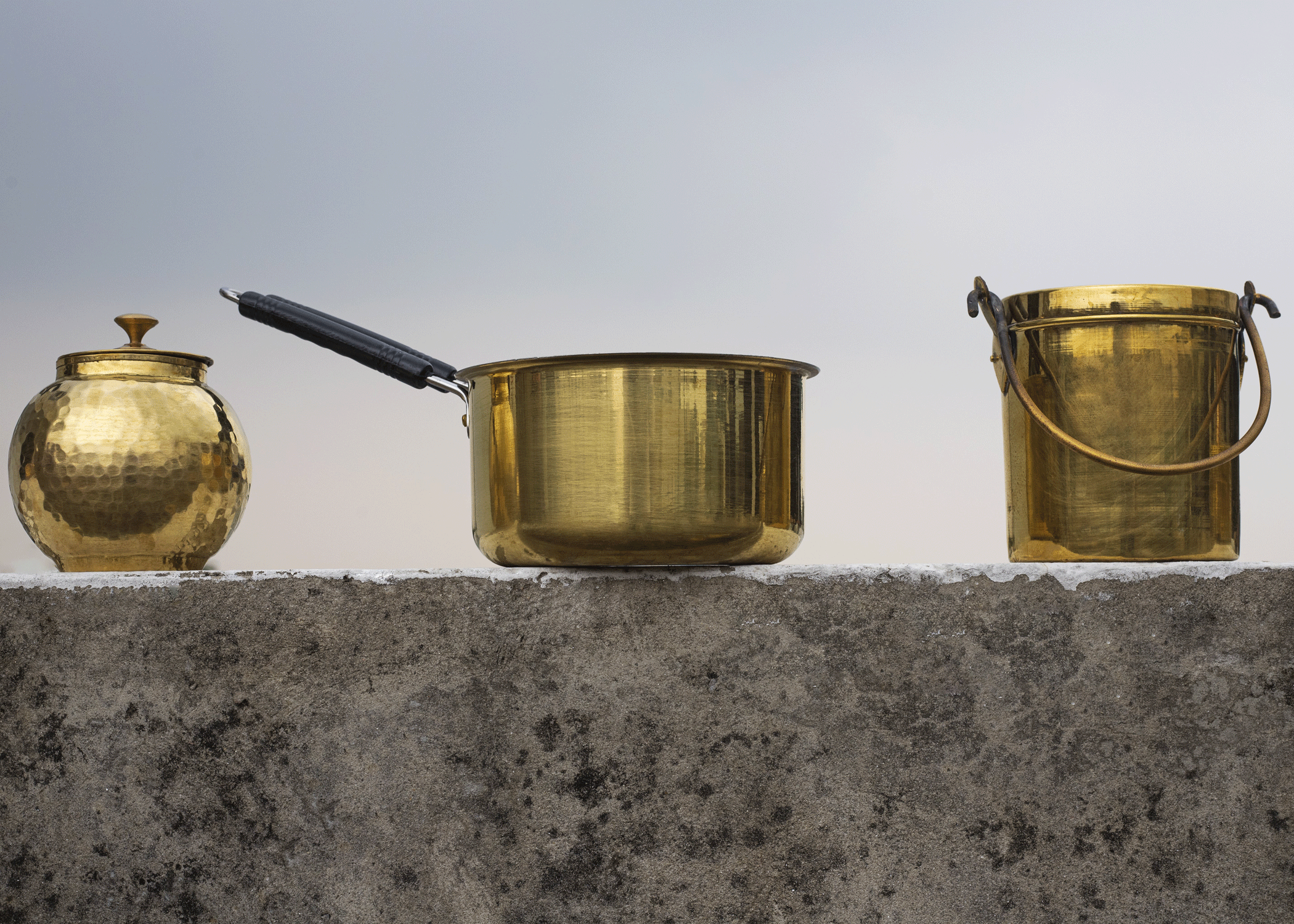 Brass Saucepan