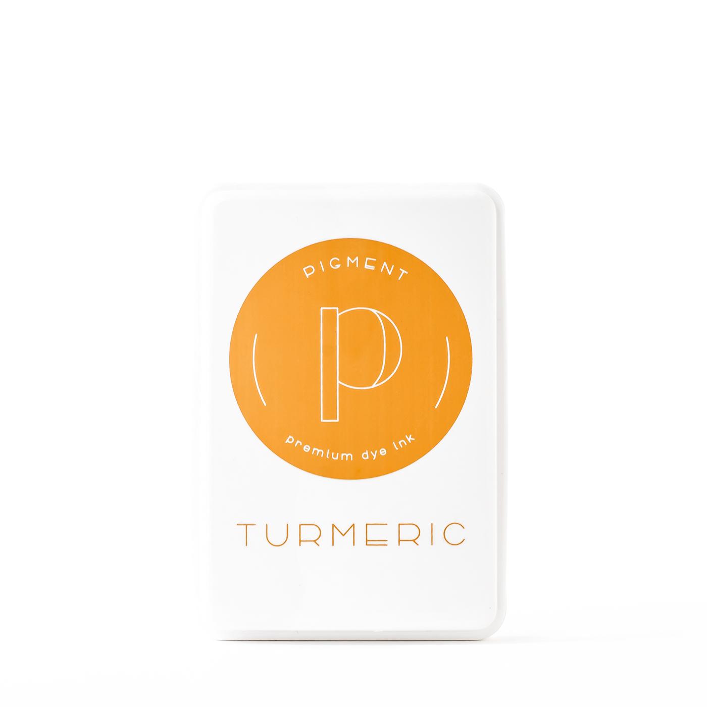 Pigment Turmeric Premium Dye Ink