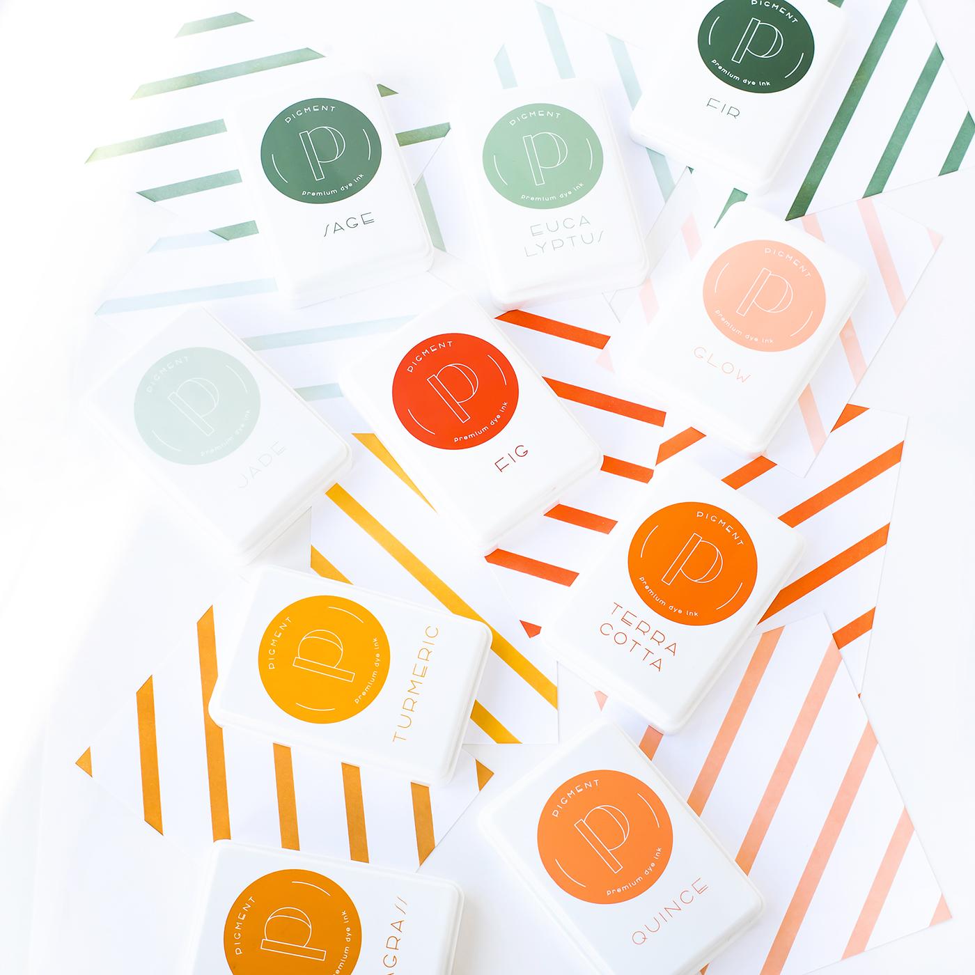 Pigment Premium Dye Ink Collection