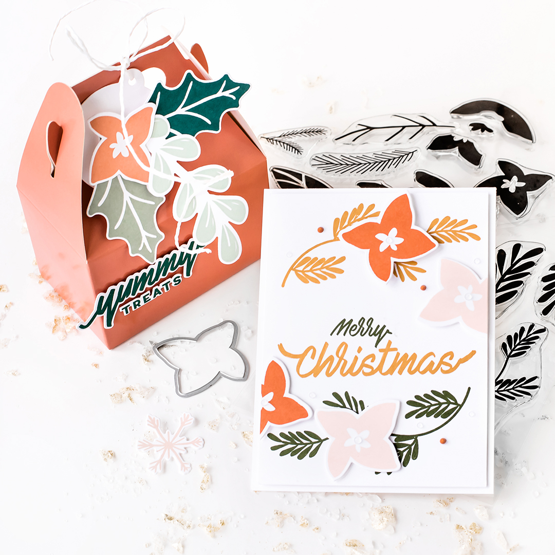 Pigment Winter Sprig Stamp