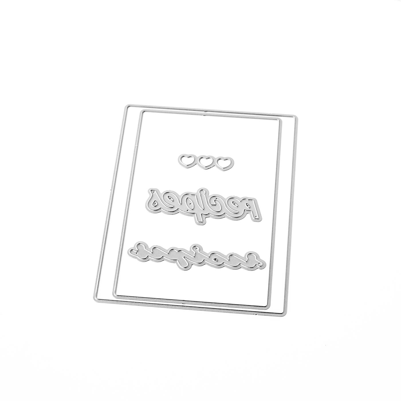 Pigment Recipe Card Builder Dies