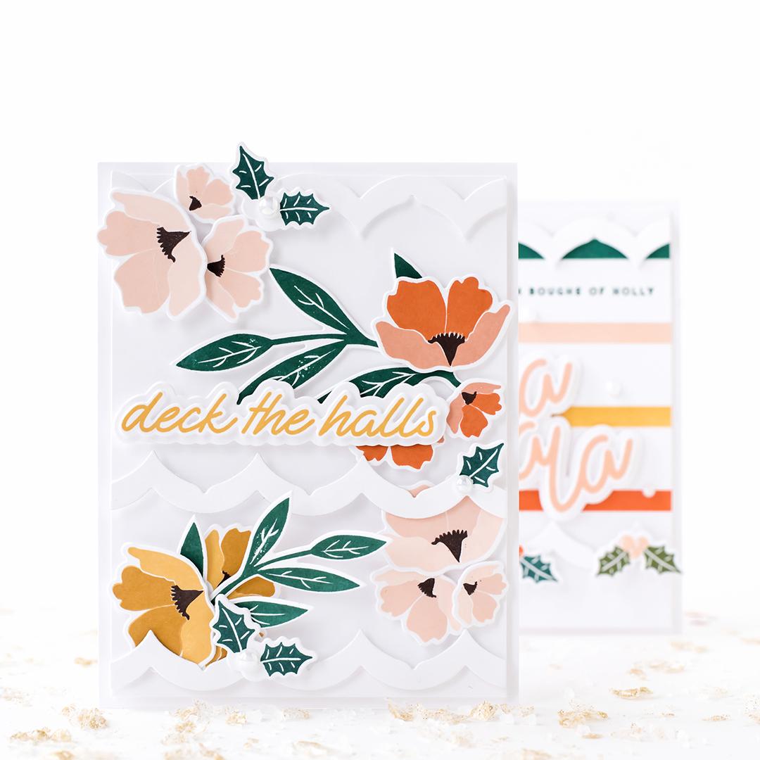 Pigment Winter Bloom Stamp